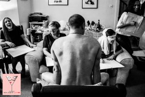 nude drawing party home