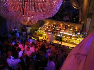 VIP area nightclub in Dublin