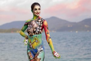 nude body painting