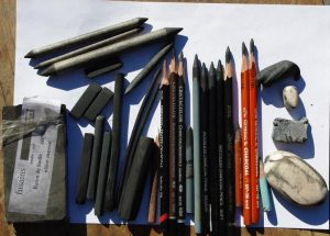 drawing material