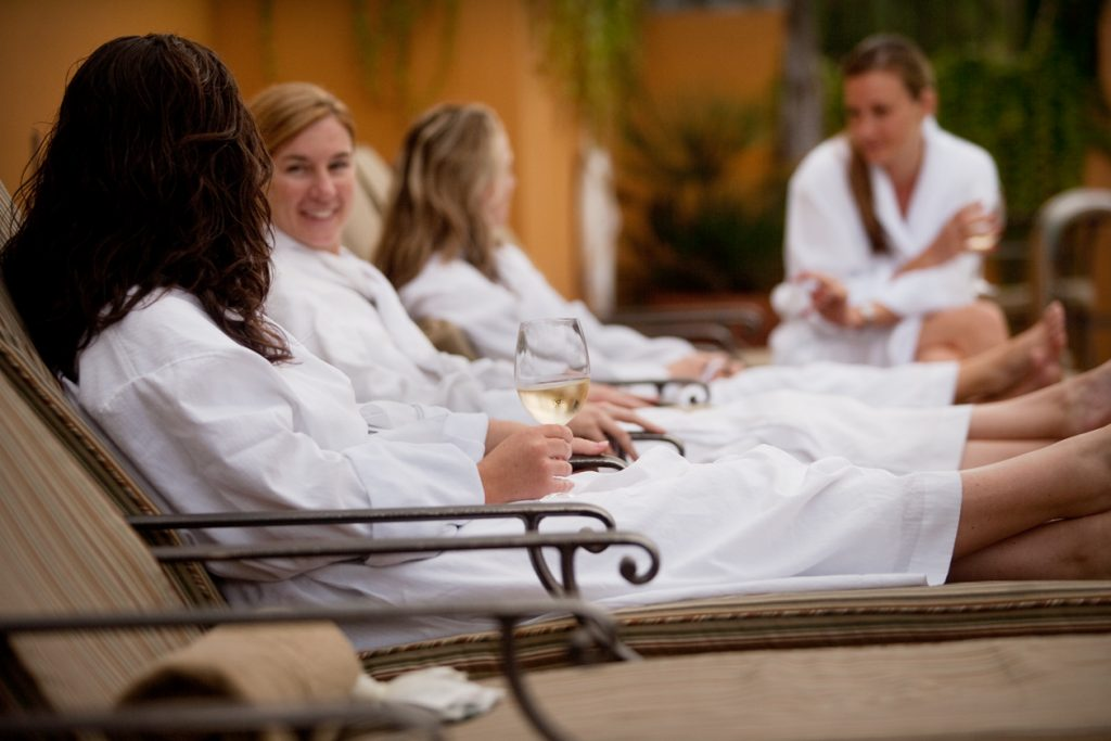 Chill and Thrill hen party package