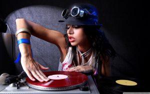 girl deejay